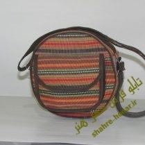 کیف صدف پشمی