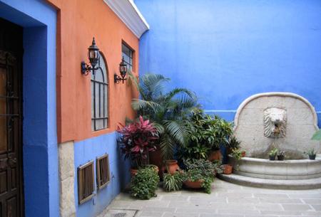 رنگ آمیزی دیوار حیاط,تکنیک های رنگ آمیزی دیوار حیاط