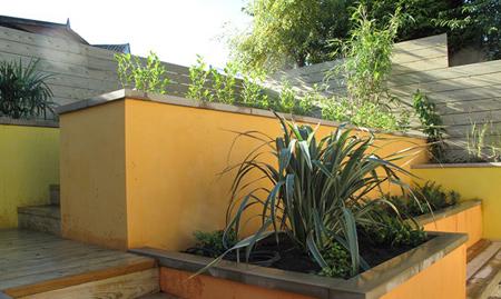 رنگ آمیزی دیوار حیاط در تابستان, بهترین رنگ های دیوار حیاط در تابستان