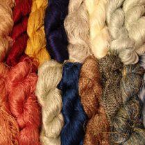 آموزش رنگرزي و انواع رنگ در فرش