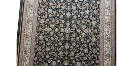 فرش ماشینی سرمه ای ۷۰۰شانه